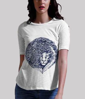 Damini womens white tee c