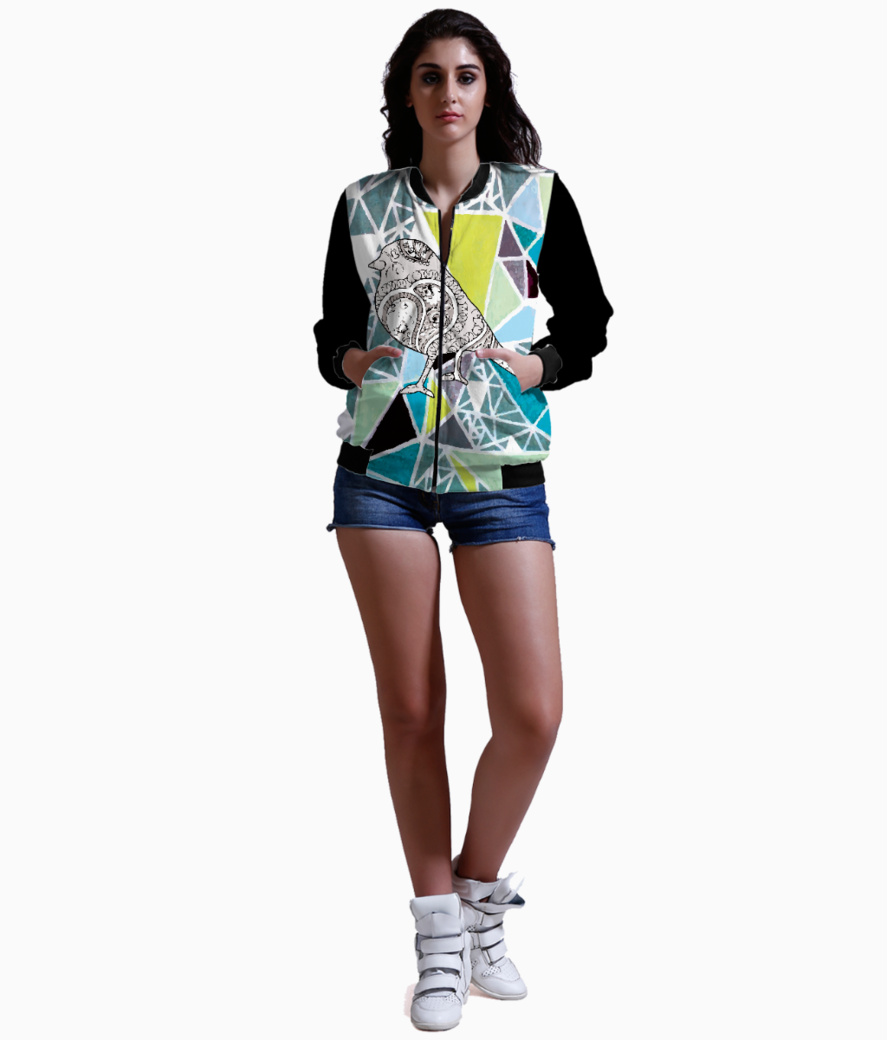 Birdy tee bomber front