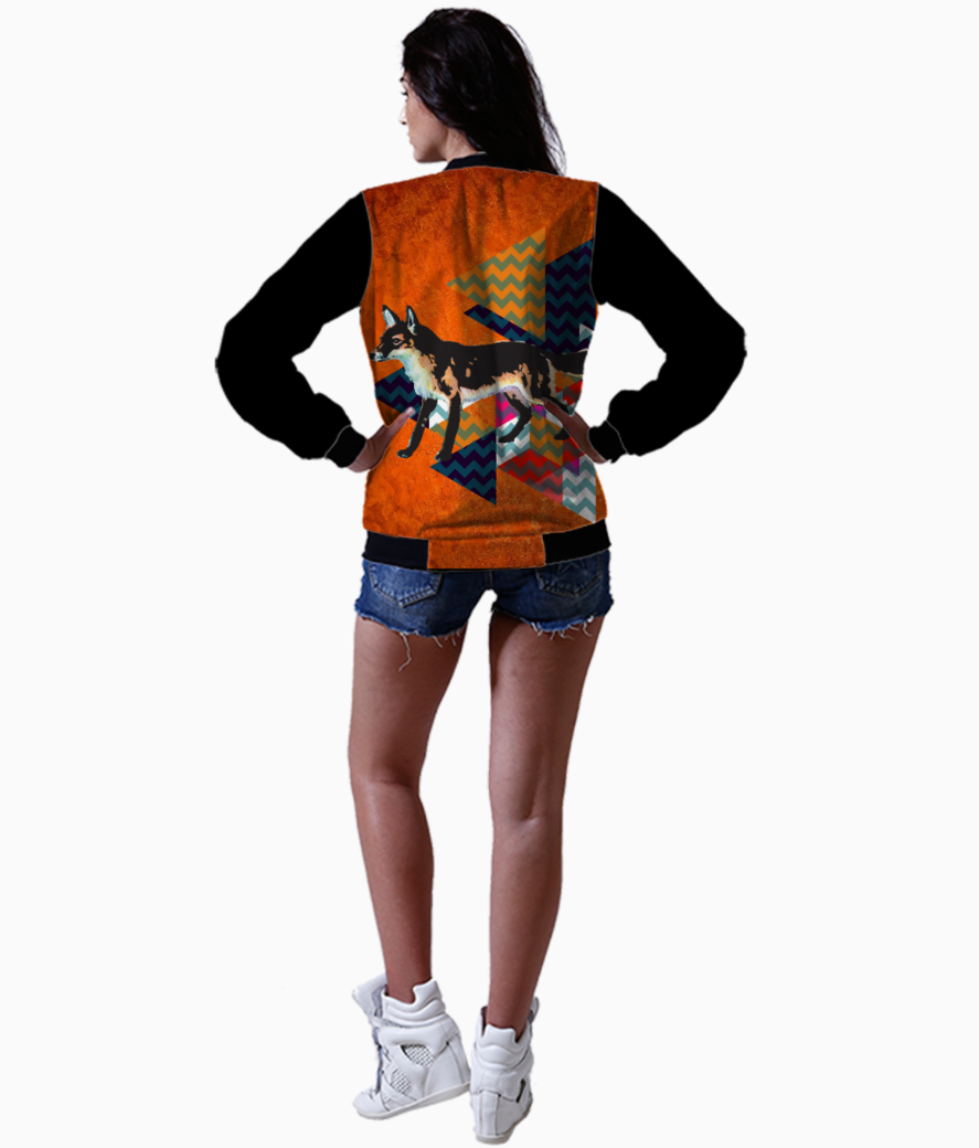 Fox for funkilicious bomber back