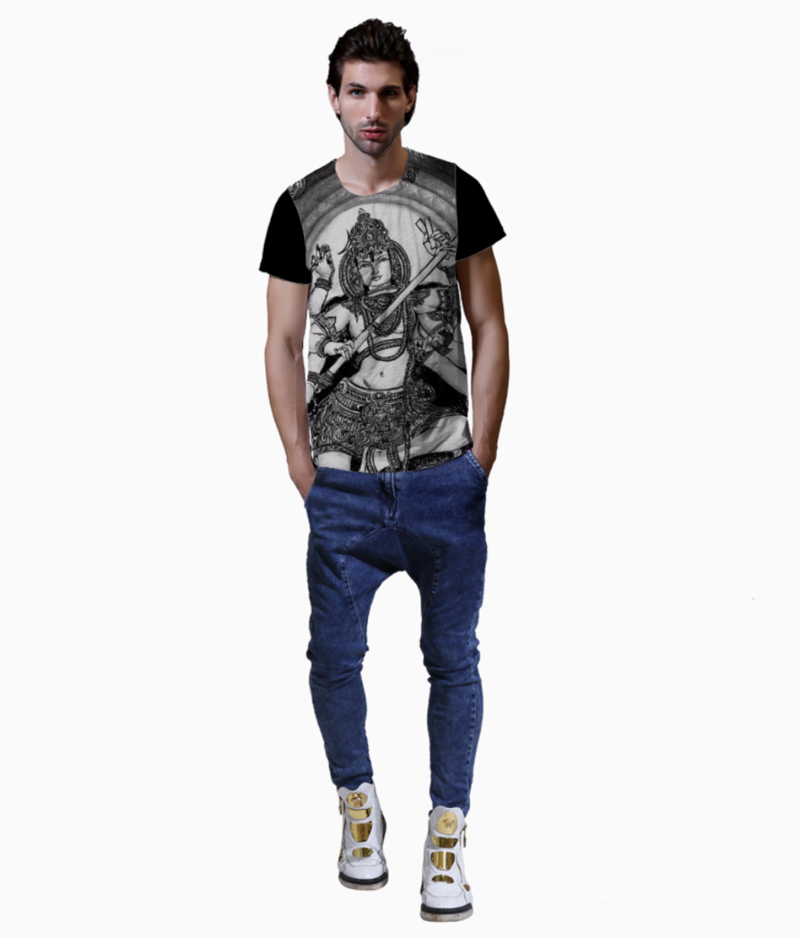 Shiv me t shirt front