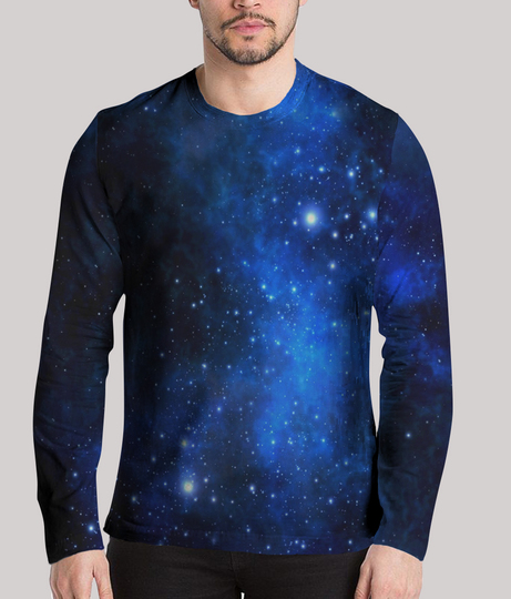 Nebula men's printed henley