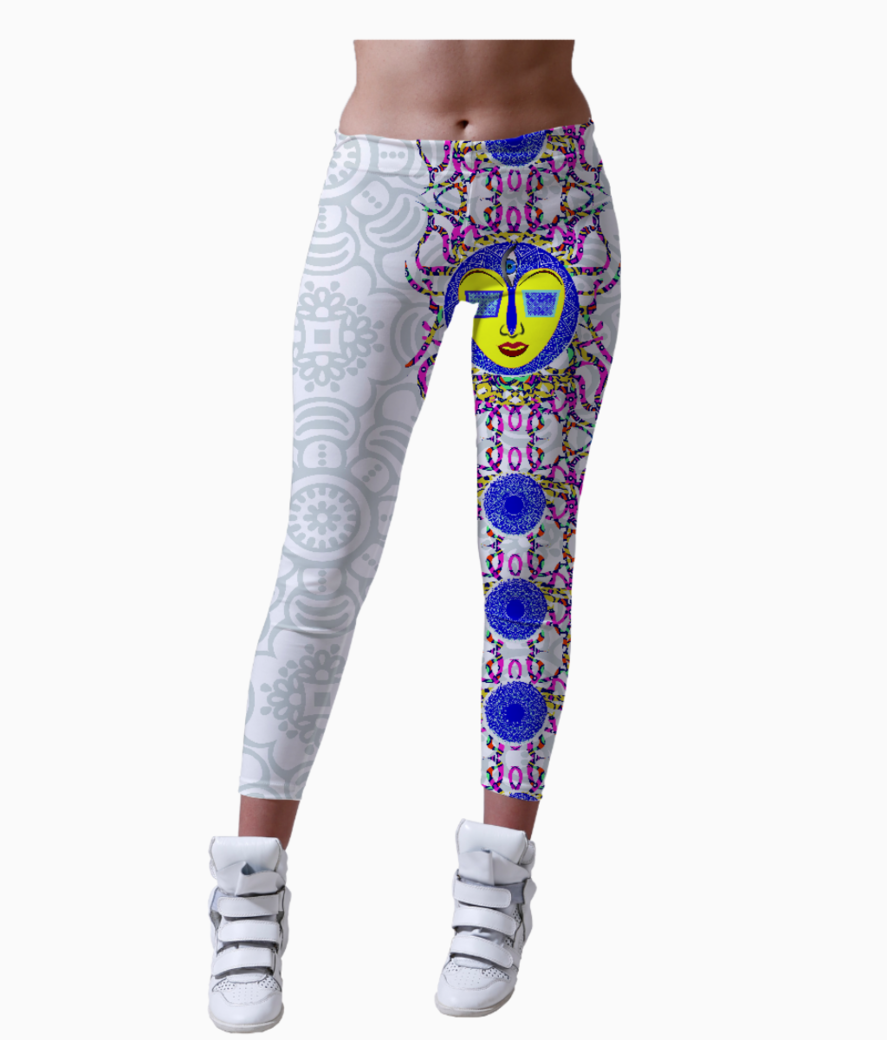 Trance long 01 01 leggings front