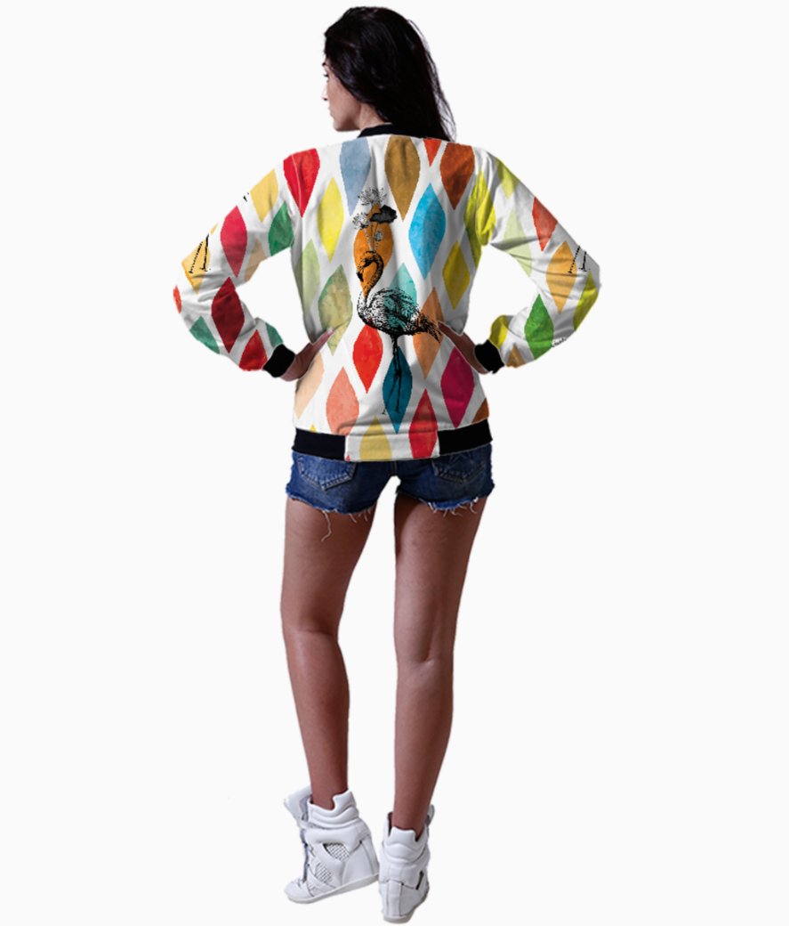Lotus flamingo bomber back
