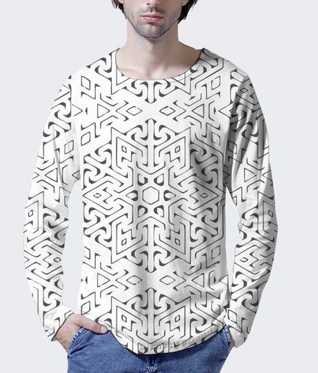 Mickeyz %28 tribe %29 men's printed henley