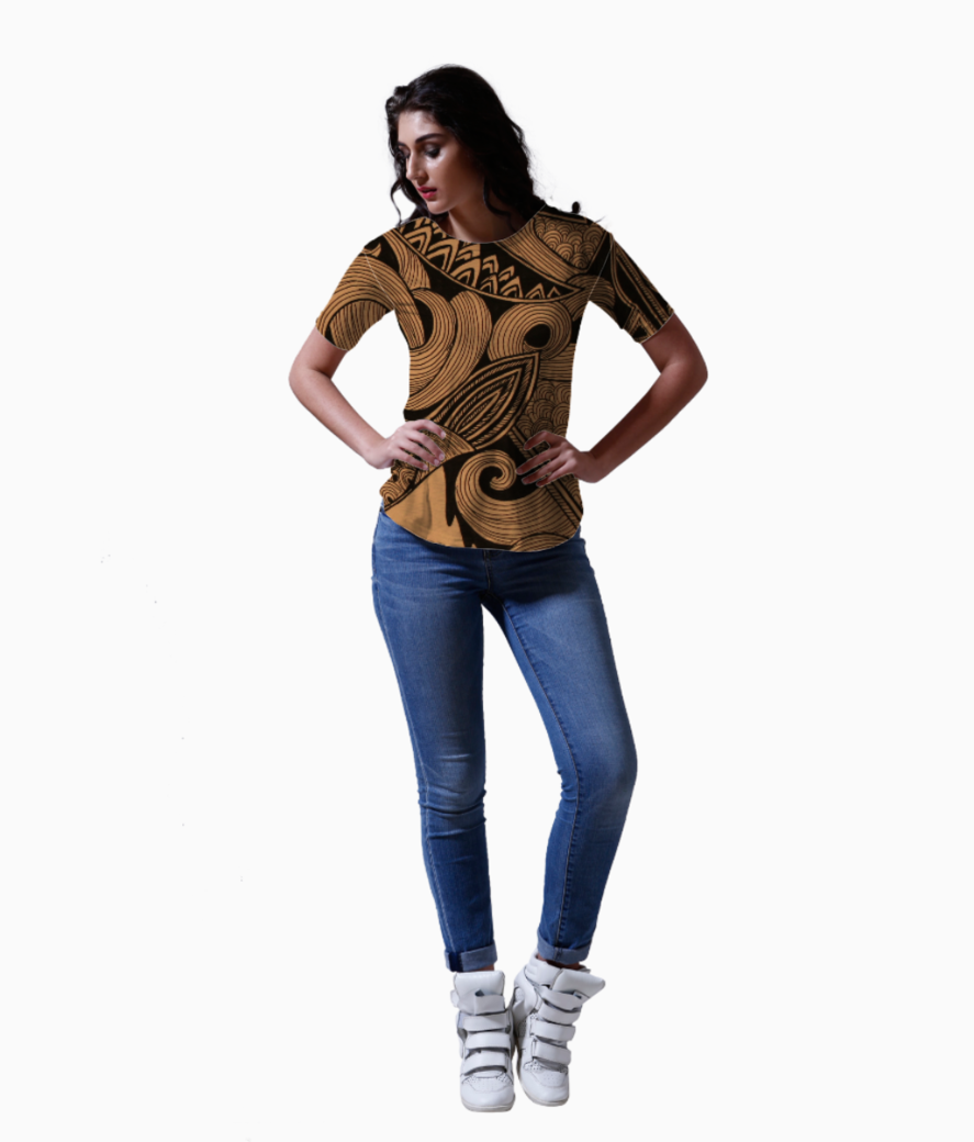 Lion tee front