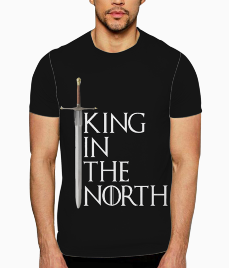 King in the north t shirt front
