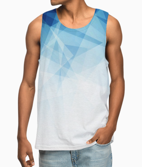 Abstract blue background 1048 1511 vest front