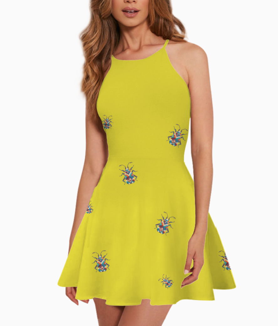 Bug summer dress front