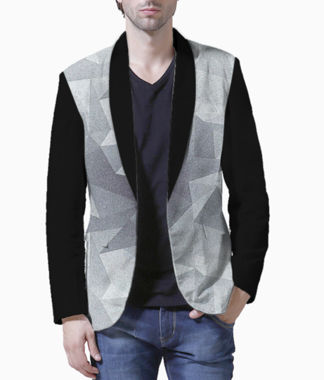 Geo graph men's blazer front