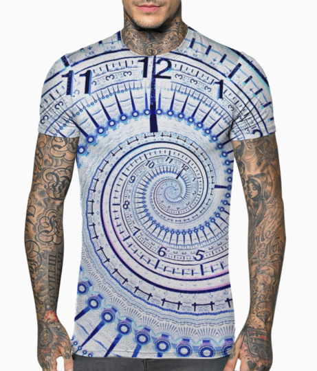 Time t shirt front