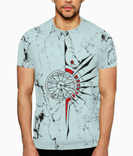 Tribalclock t shirt front