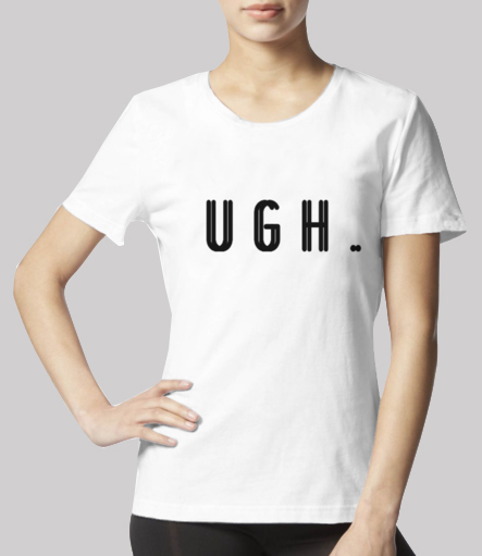 Ugh tee front