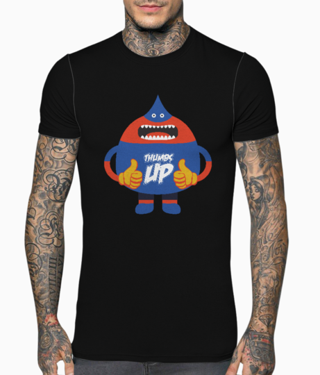 Thumps up t shirt front