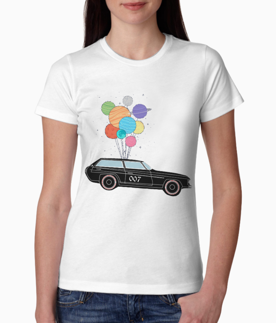 Car tee front
