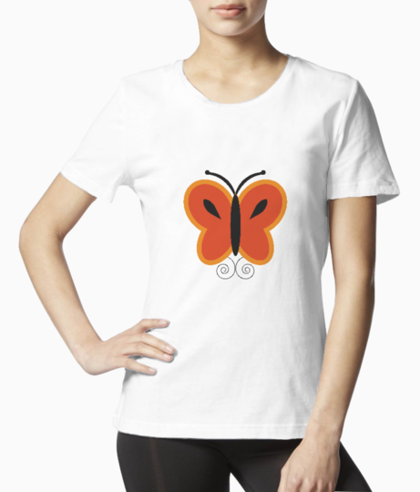 Butterfly tee front