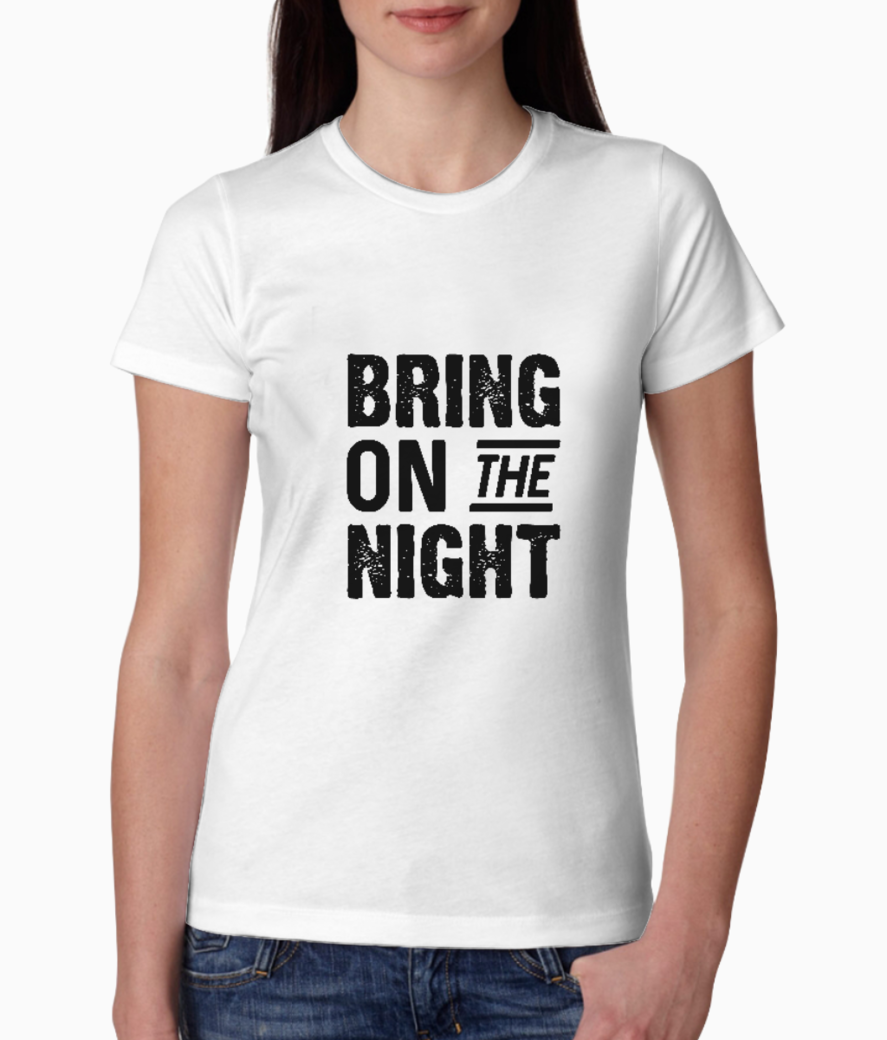 Bring on the night tee front