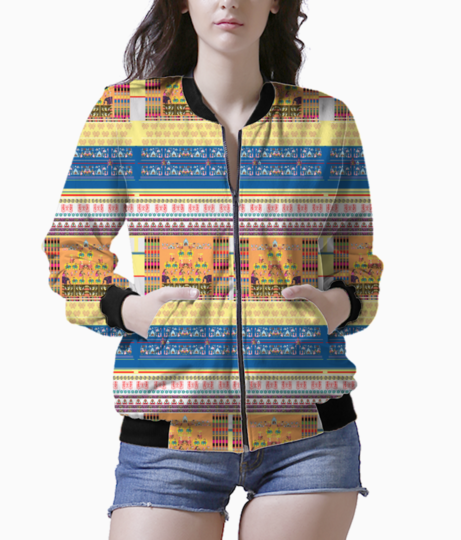 Design6 women's bomber front