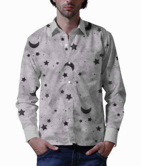 Moon basic shirt front