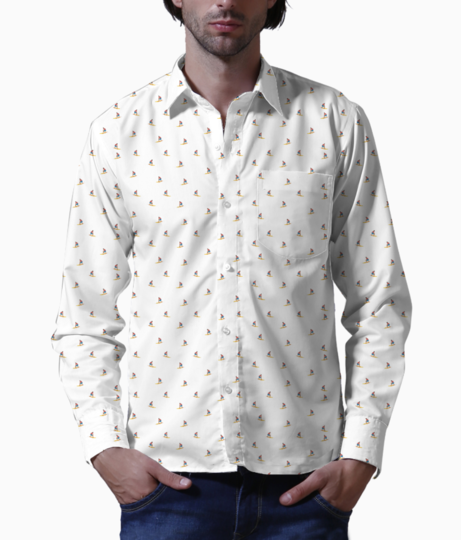 Surfer basic shirt front