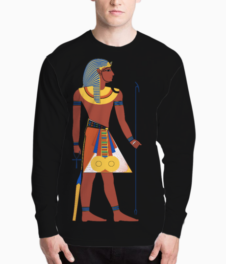 Egyptian henley front