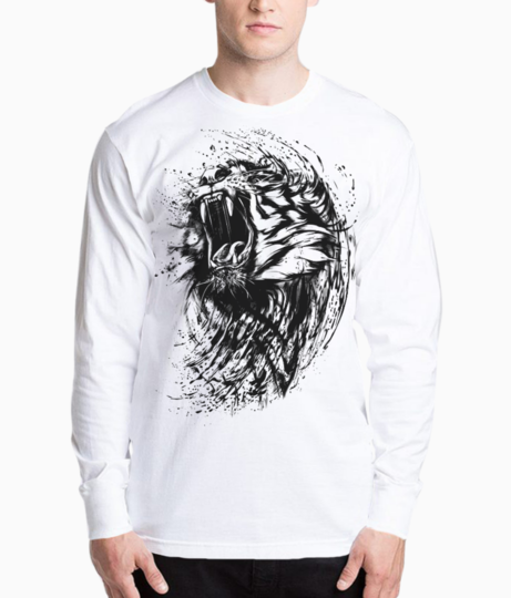 Lion sketch henley front