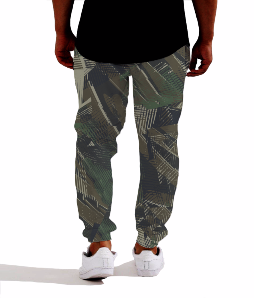 Military 5 joggers back