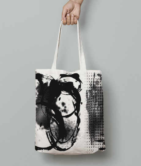 4rr4 tote bag front