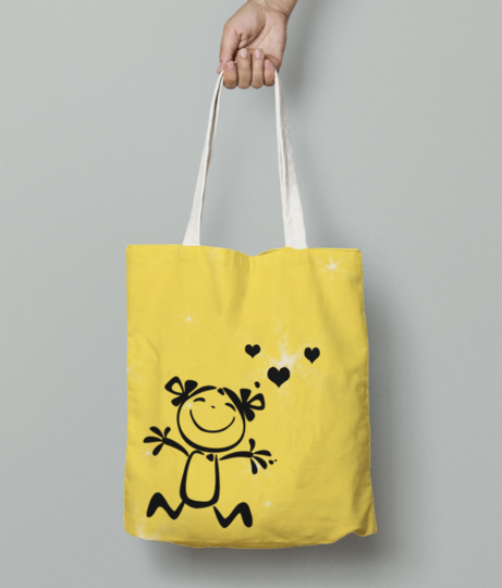 As tote bag front
