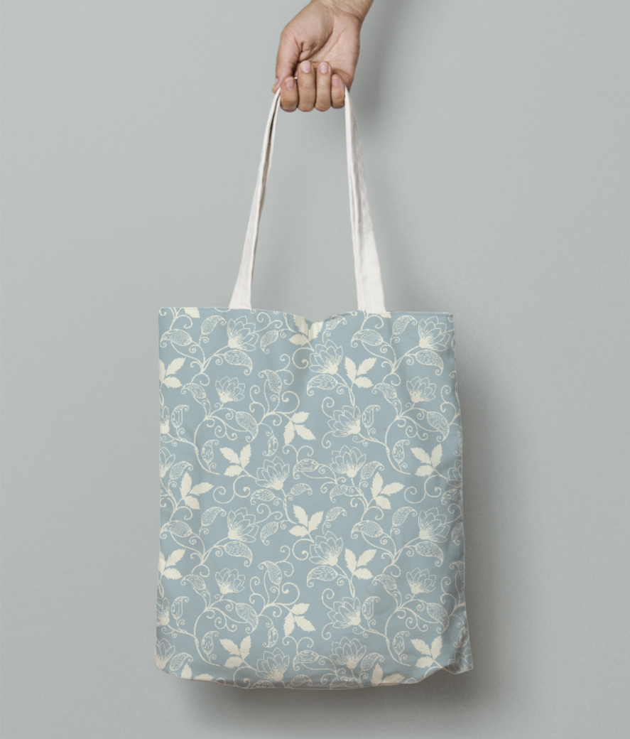 615 tote bag front