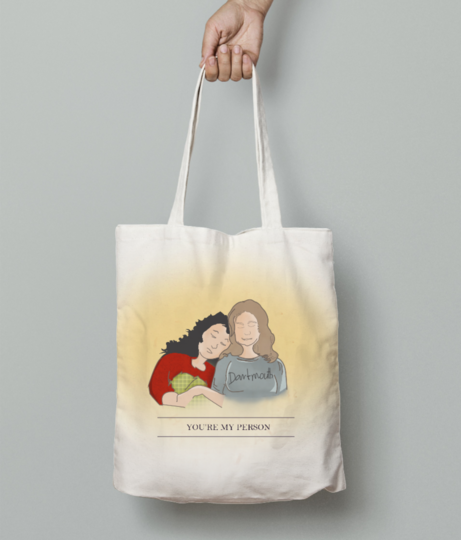 You're my person tote bag front