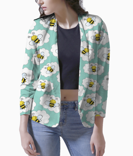 Bees blazer front