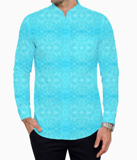 Pool water basic shirt front