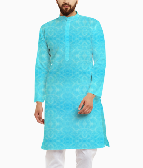 Pool water kurta front