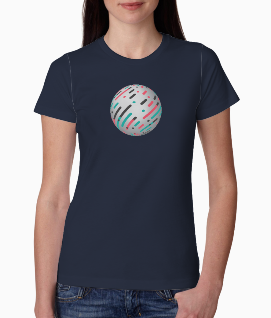 Circle solid tee front