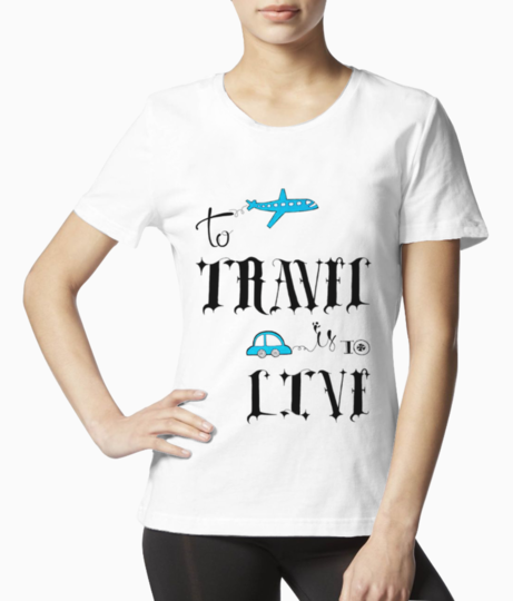 Travel 6 tee front