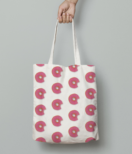 Donut swatch11 01 tote bag front
