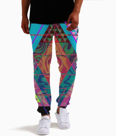Artlife allover joggers front