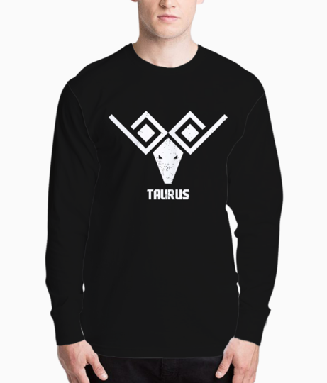 Taurus sign henley front
