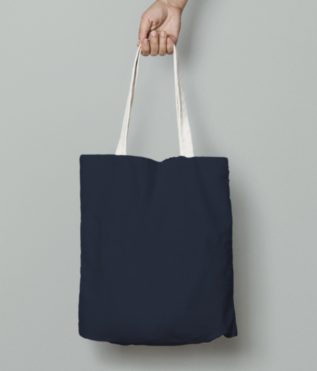 Edit knife tote bag front