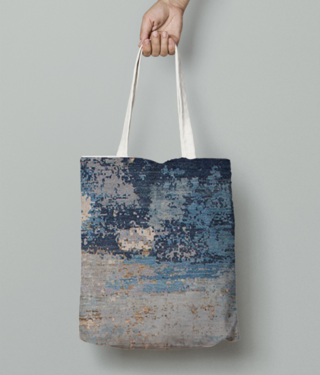 Mad art tote bag front