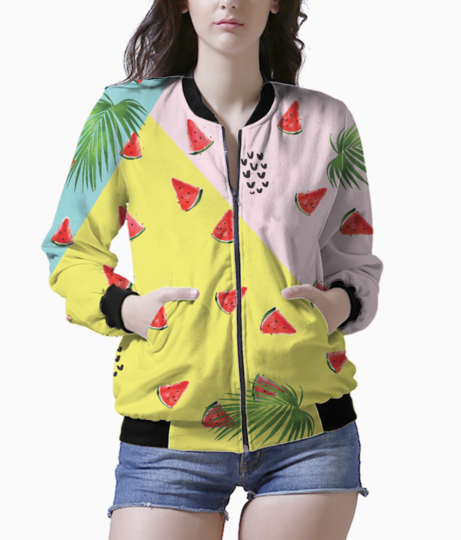 Summer melons bomber front