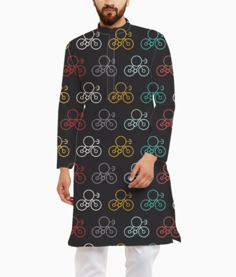 Bicycle seamless kurta front