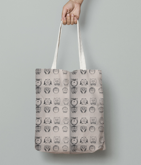 Desktop tote bag front