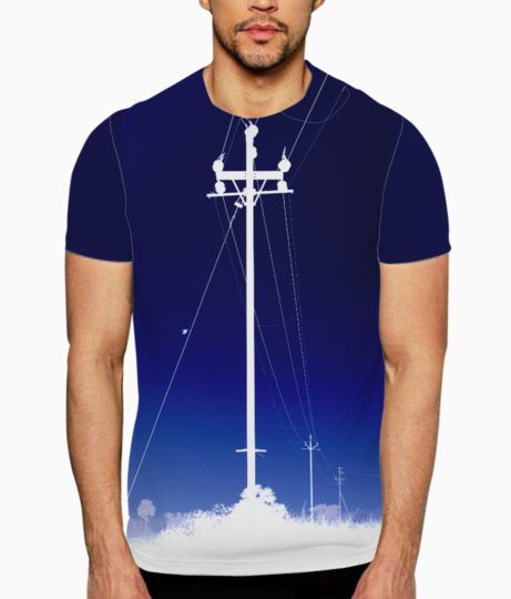 Electricity t shirt front