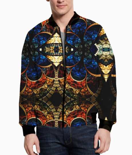 Artistic style bomber front