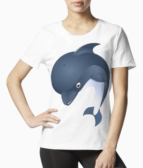 Dolphin tee front