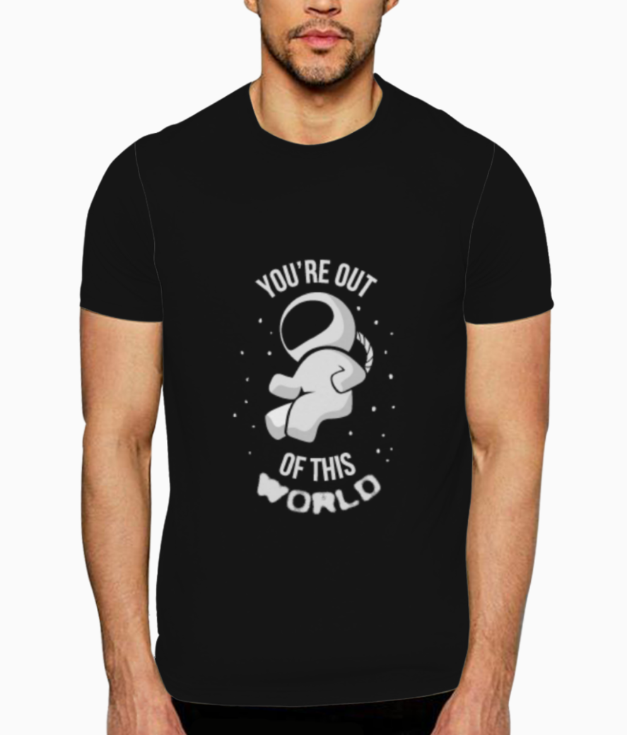 Out of this world t shirt front