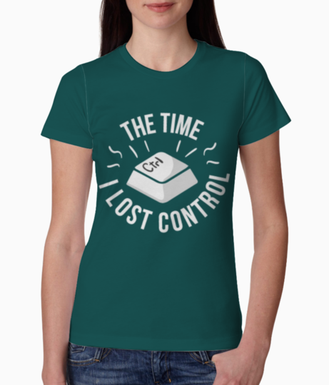 Control tee front