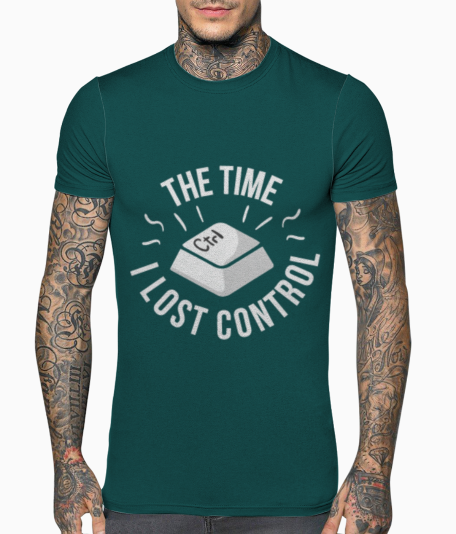 Control t shirt front