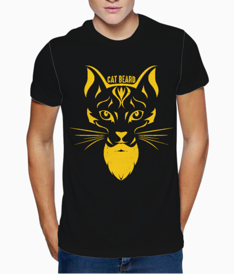 Beardcat t shirt front